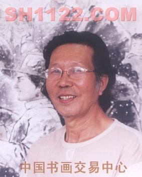 国画人物,风景名家 张恩祥 - 雪花飘飘
